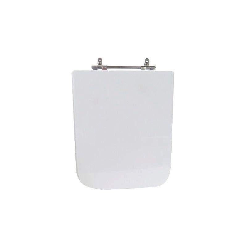 Assento Sanitário Poliéster Para Louça Incepa Square Liso Branco