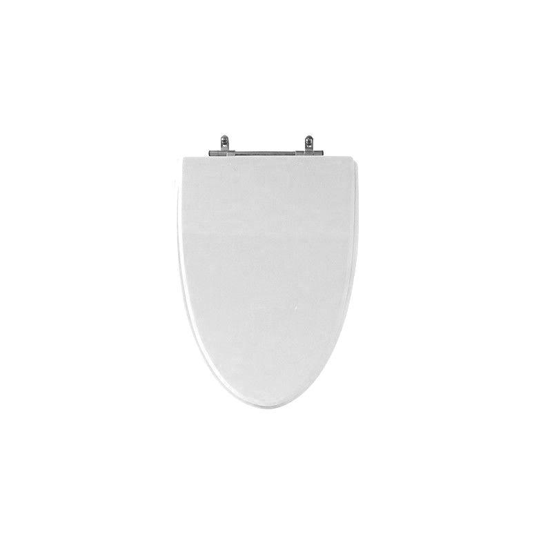 Assento Sanitário Poliéster para Louça Proa (Celite) Aço Cromado (Reb. Oculto) Branco