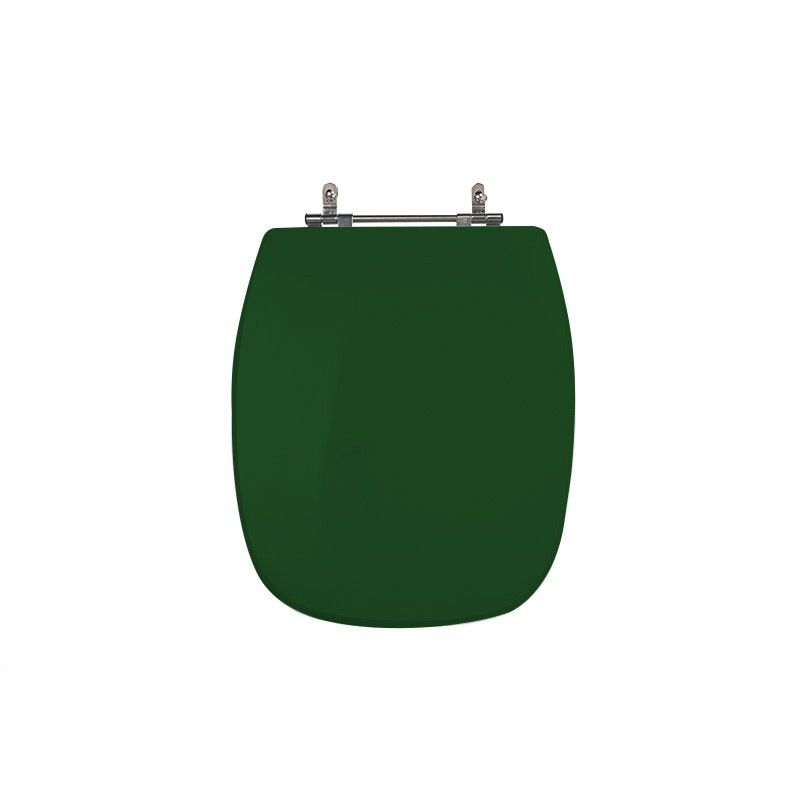 Assento Sanitário Poliéster Para Louça Celite Styllus Verde Village