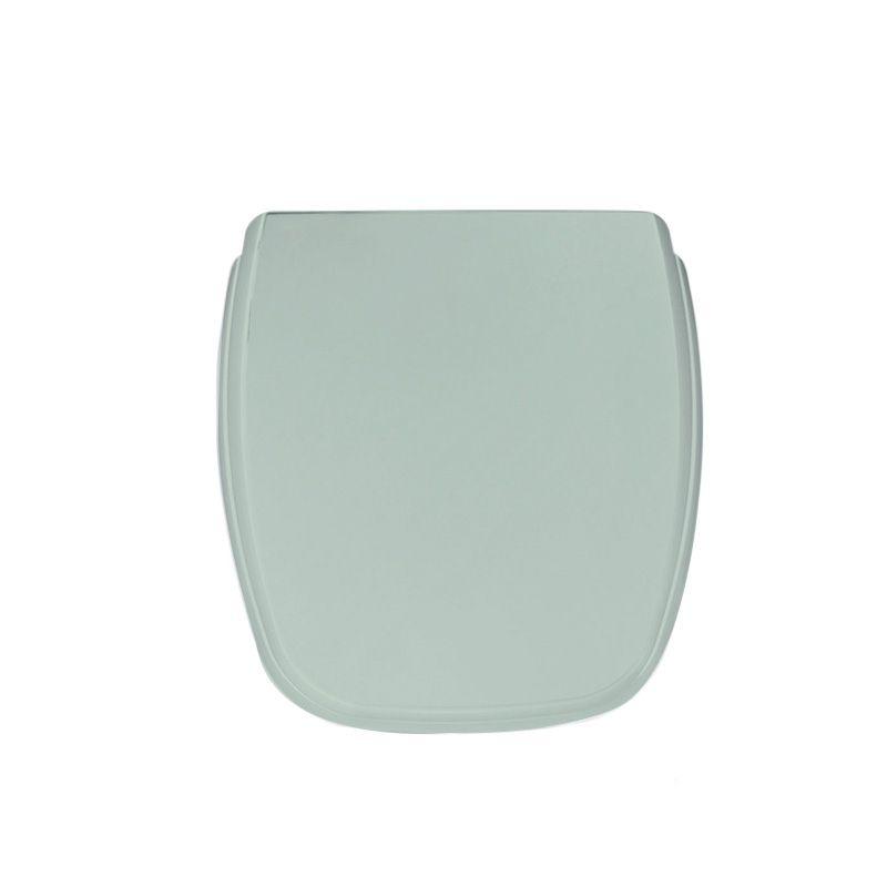 Assento Sanitário Polipropileno Plus Soft Close Fit Água Marinha Celite
