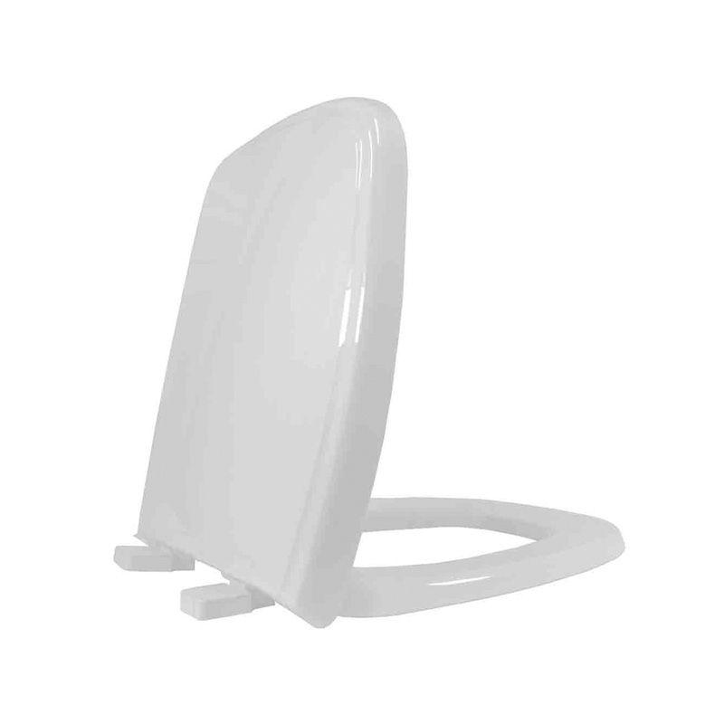 Assento Sanitário Polipropileno Fit/Versato/Savary Tupan Cinza Prata