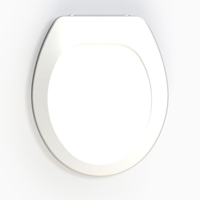 Assento Sanitário Polipropileno Oval Premium Tupan