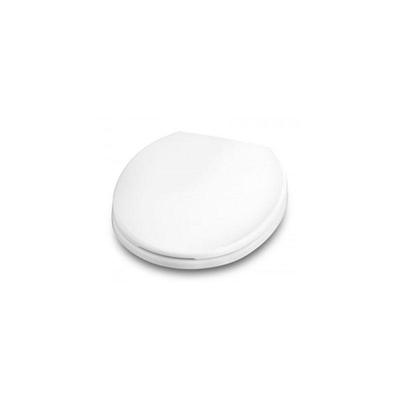 Assento Sanitário Polipropileno Oval Softclose Branco Celite