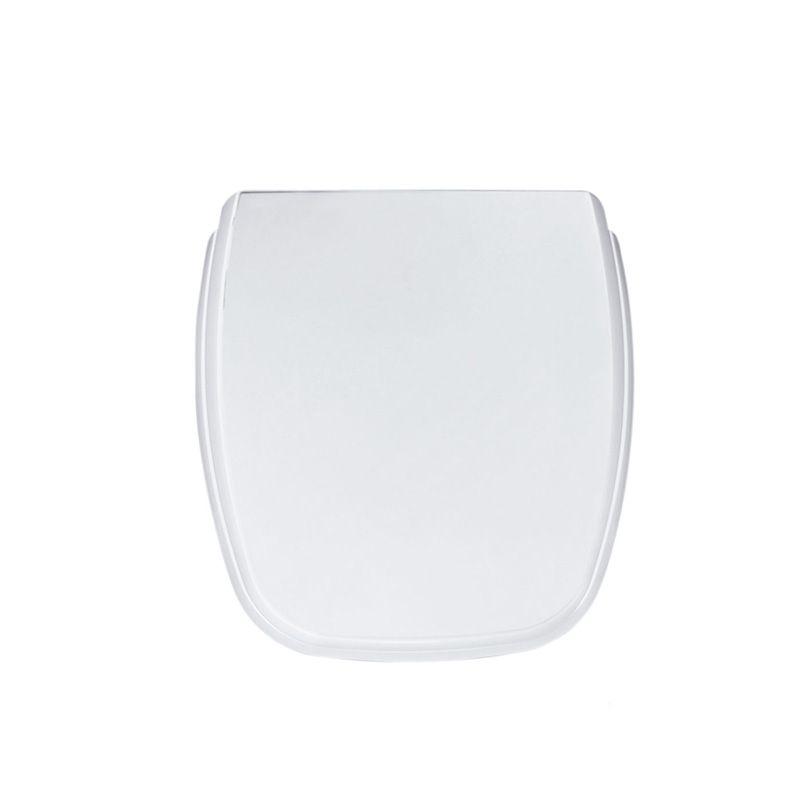 Assento Sanitário Polipropileno Plus Fit / Versato Celite Branco