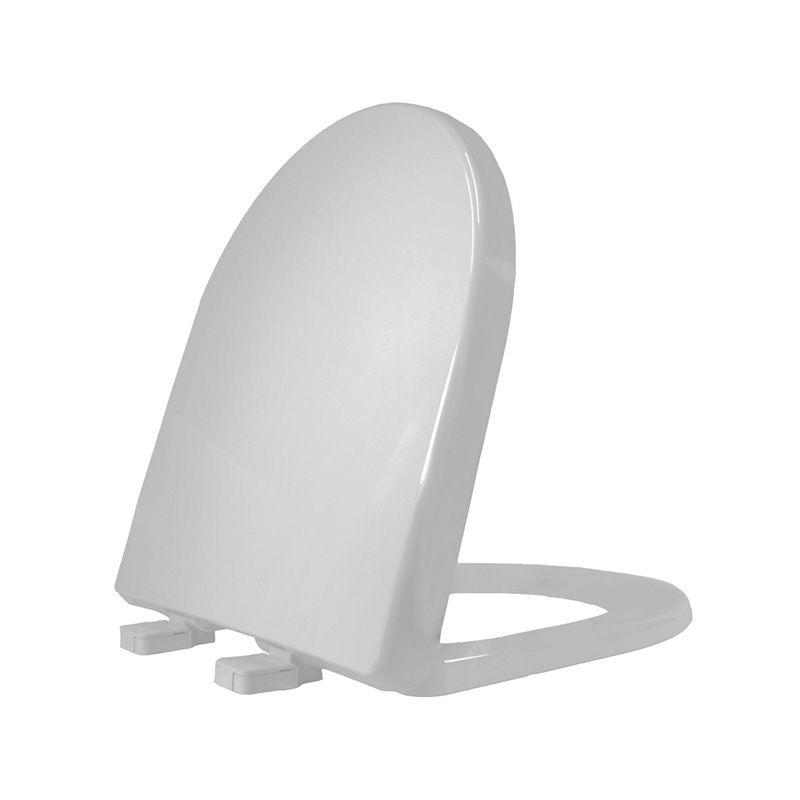 Assento Sanitário Polipropileno Riviera/Smart/Nexo Tupan Cinza Prata