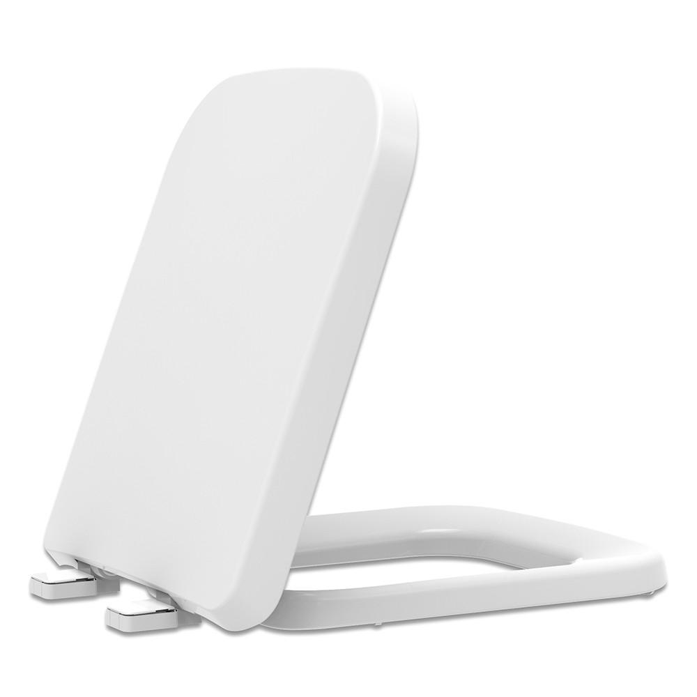 Assento Sanitário Polipropileno Soft Close Misti Branco