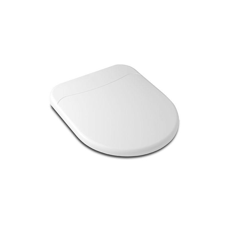 Assento Sanitário Polipropileno Soft Close Riviera/Smart Celite Branco