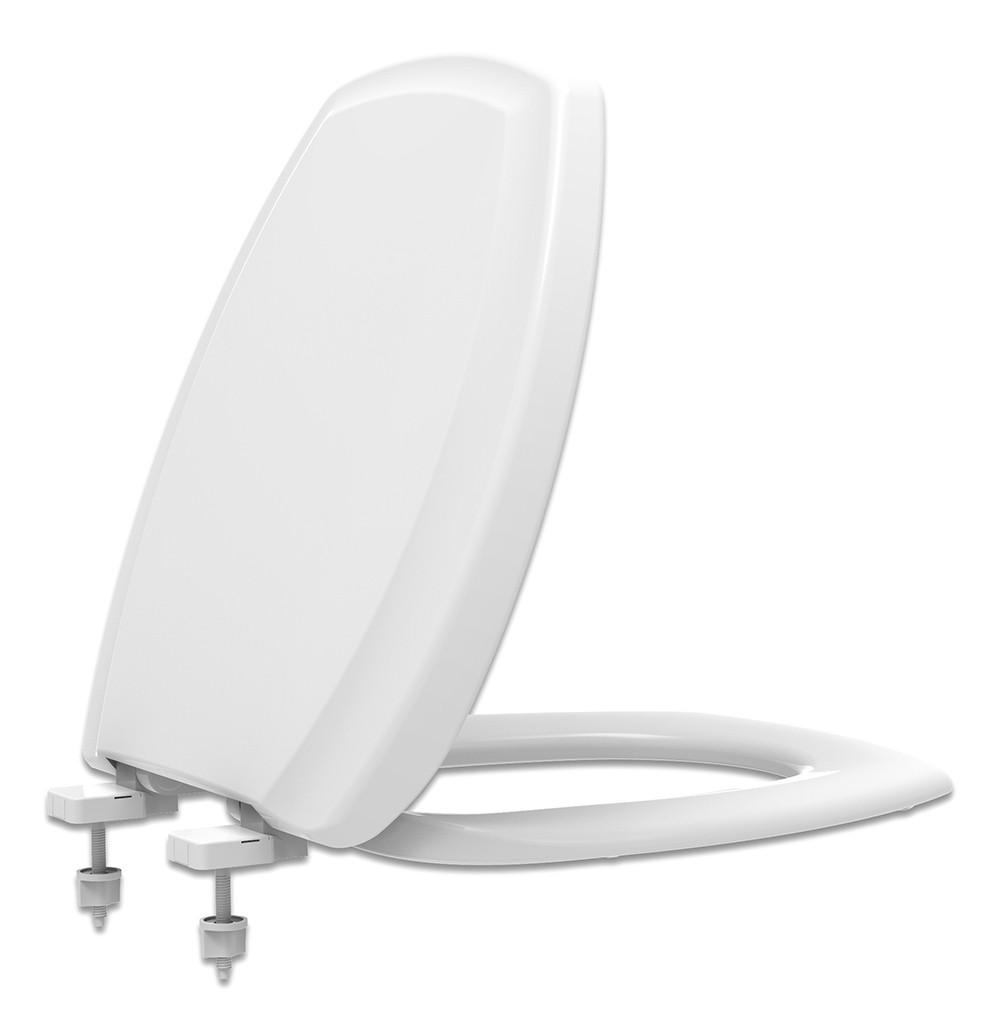 Assento Sanitário Polipropileno Soft Close Thema Branco