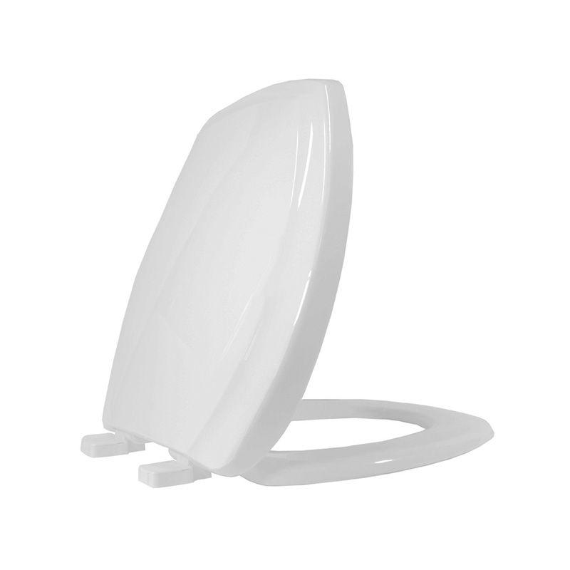Assento Sanitário Polipropileno Soft Close Thema Tupan Cinza Platina