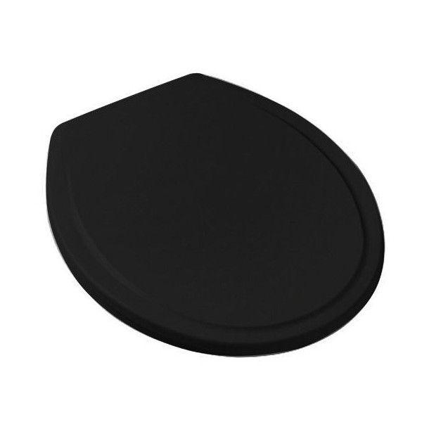 Assento Sanitário Polipropileno Universal Celite / Incepa / Logasa Preto