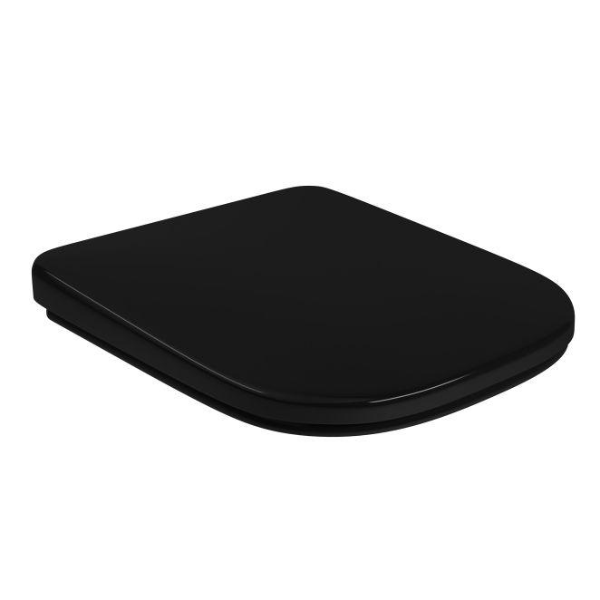 Assento Sanitário PP SlowClose Quadra/Polo/Uni/Axis Ébano Deca