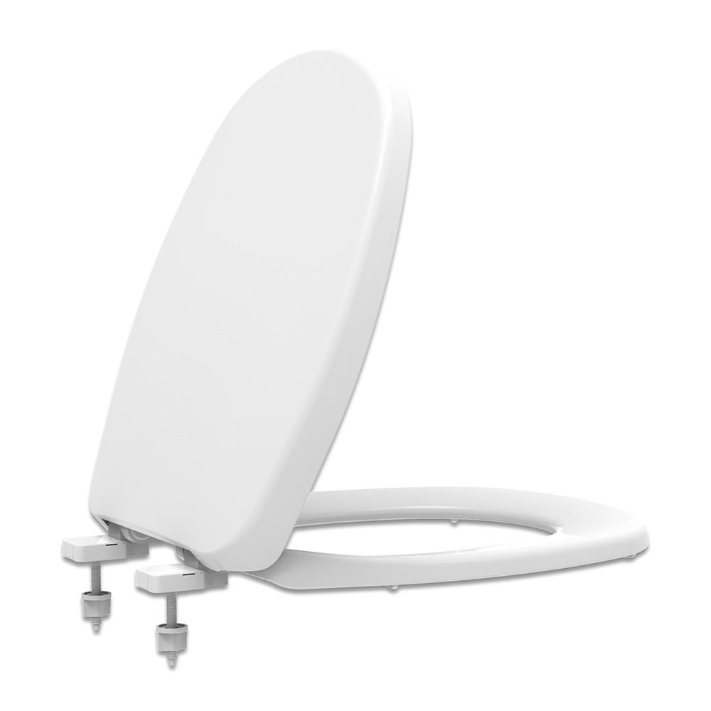 Assento Sanitário PP Soft Close Aspen/Fast/Álamo Branco