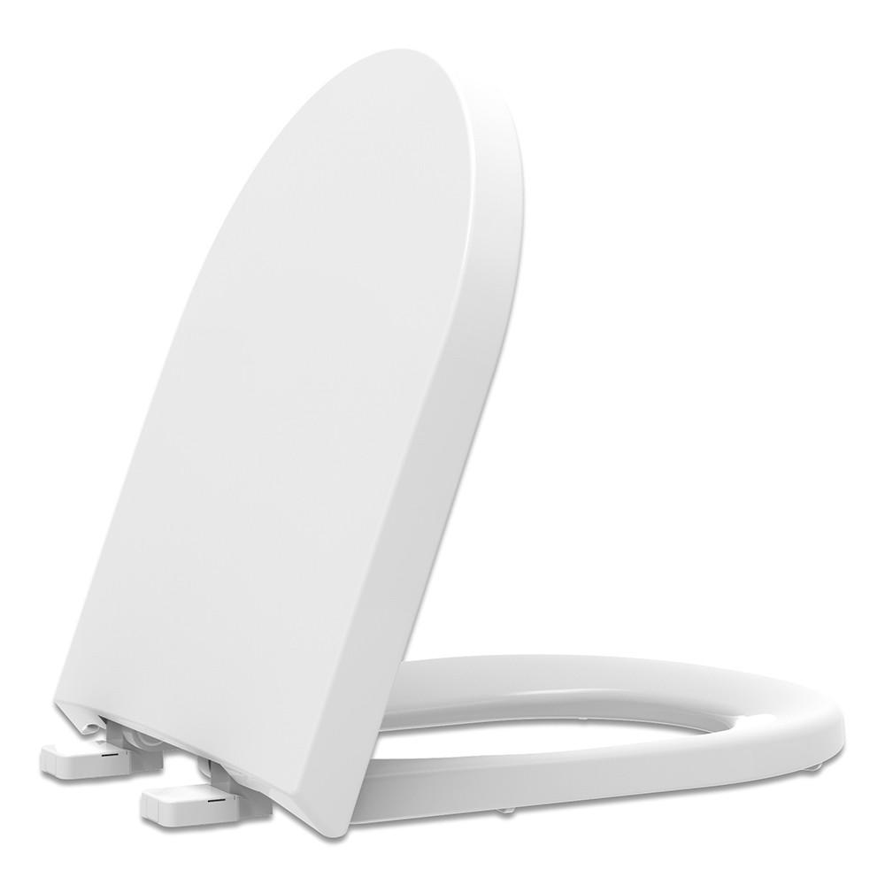 Assento Sanitário PP Soft Close Carrara/Link Branco Tupan