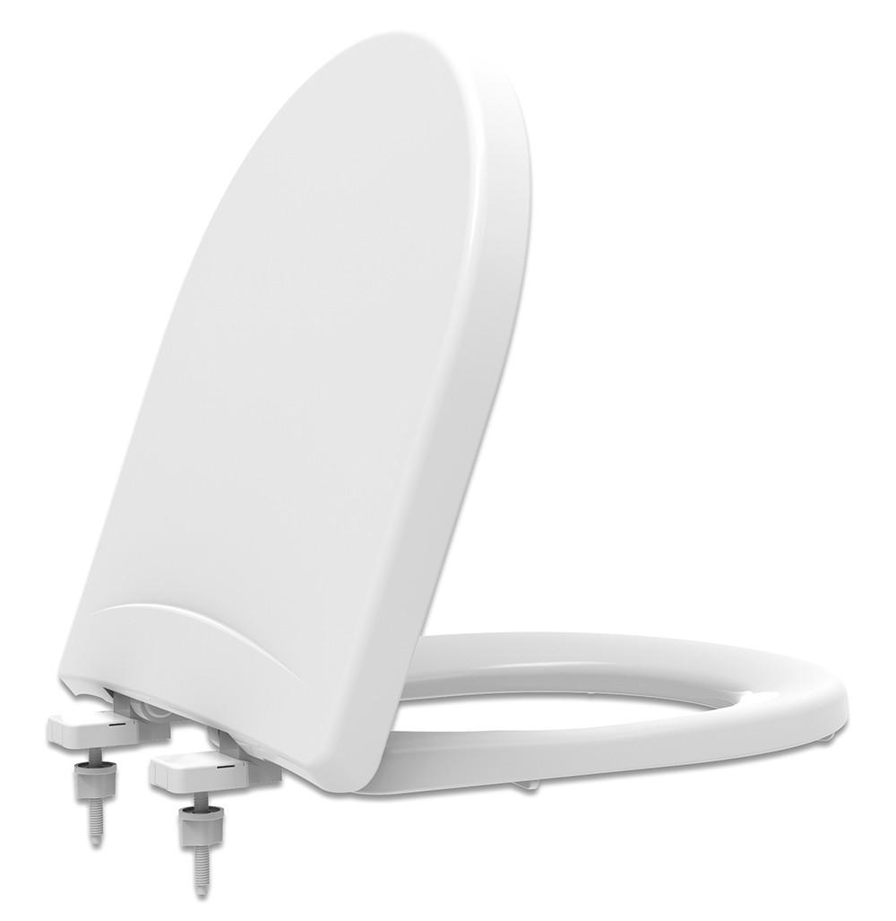 Assento Sanitário PP Soft Close Riviera/Smart/Nexo Branco