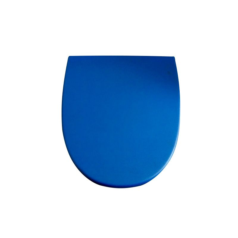 Assento Sanitário Termofixo Amortecido Azul Khroma Roca