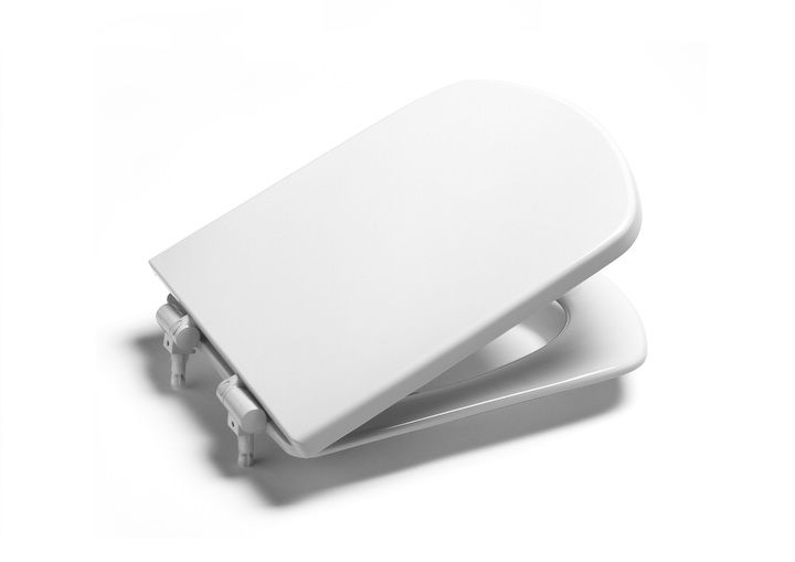 Assento Sanitário Termofixo Amortecido Dama Senso Branco Roca