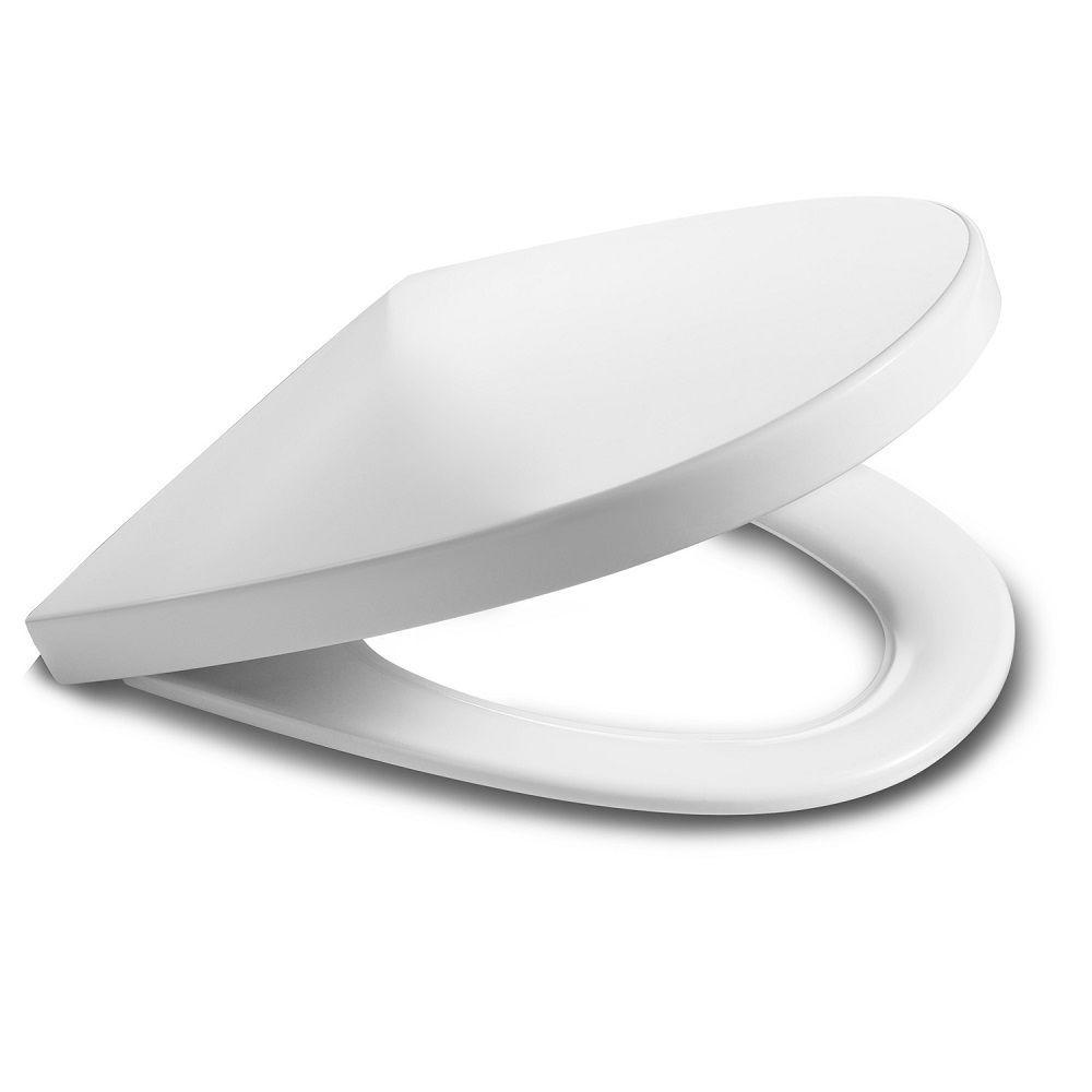 Assento Sanitário Termofixo Amortecido Khroma Branco Roca