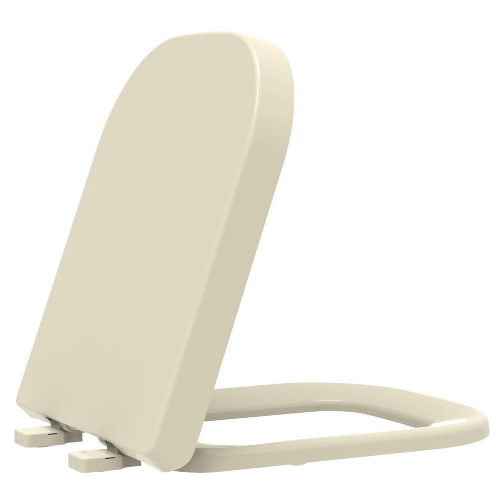 Assento Sanitário Termofixo Debba/GAP/Quadra/Polo/Unic Creme