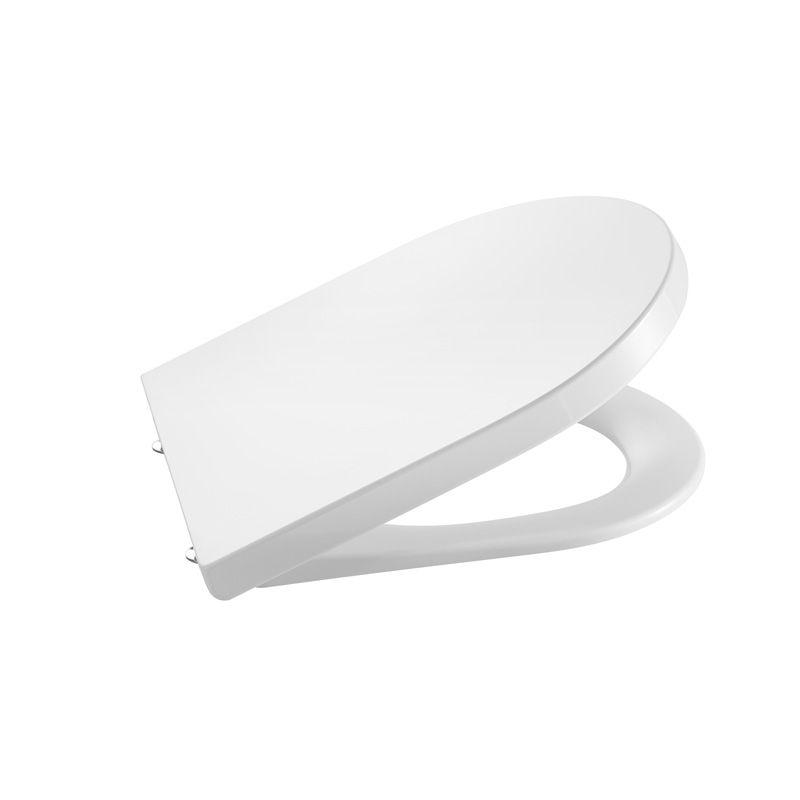 Assento Termofixo Amortecido Inspira Round Branco