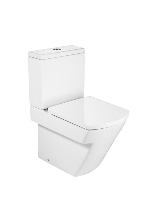 Bacia Com Caixa Acoplada 3/6 Litros Hall Branco Roca