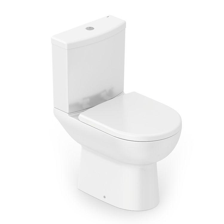 Bacia Com Caixa Acoplada Ecoflush Smart Branco Celite