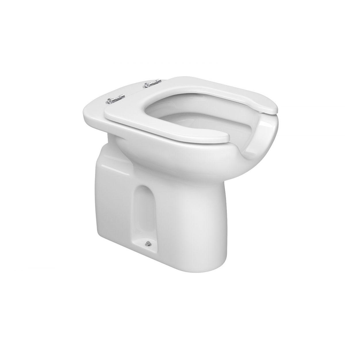 Bacia Conforto c/ Abertura Frontal Branco Vogue Plus - Deca - P.51.17