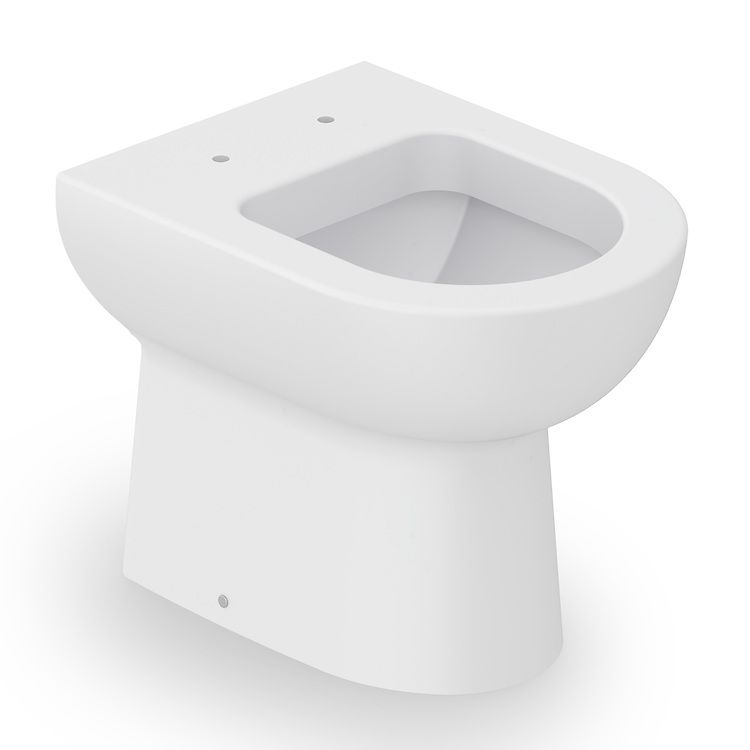 Bacia Convencional Smart Branco Matte Celite