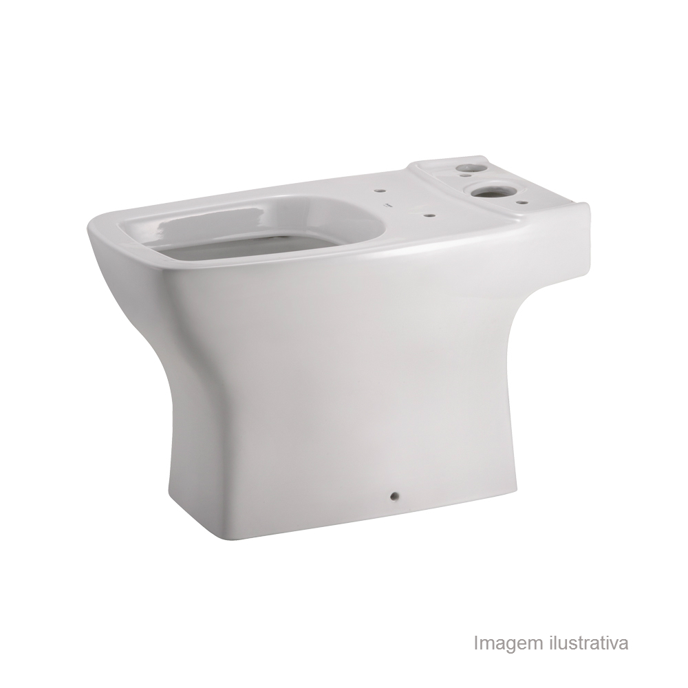 Bacia P/ Caixa Acoplada Branco - Boss - Incepa - 1893510010100