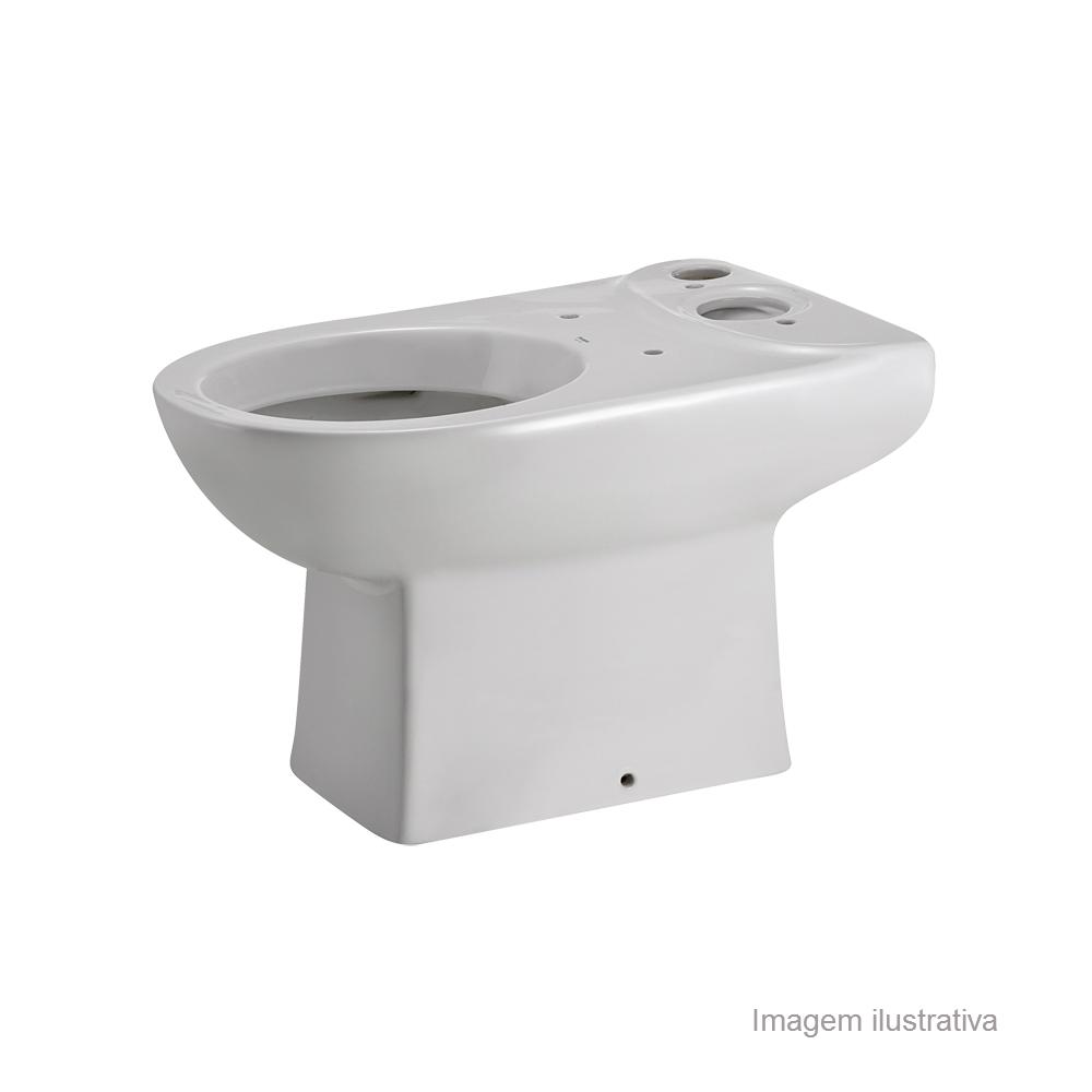 Bacia p/ Caixa Acoplada Branco - Eros - Incepa  - 1193510010100