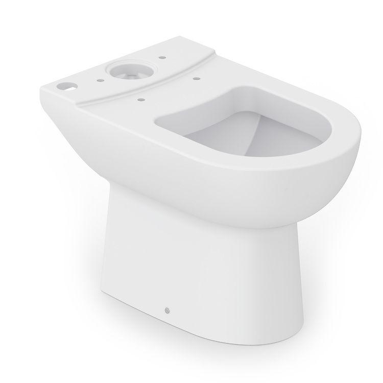 Bacia Para Caixa Acoplada Smart Branco Matte Celite