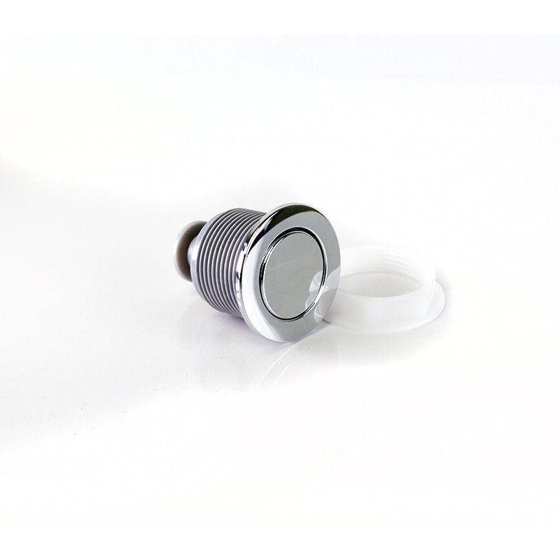 Botão de Acionamento Superior 48mm 6 Litros Cromado