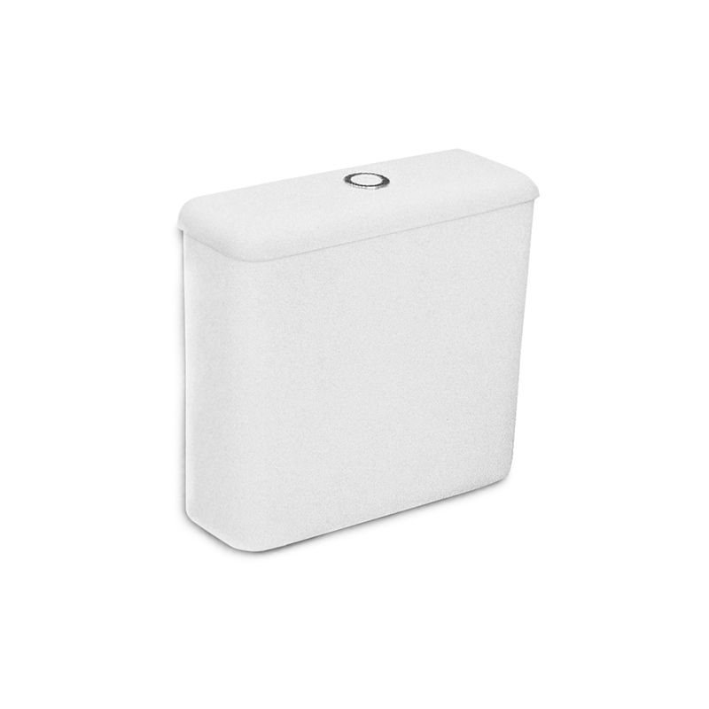 Caixa Acoplada 6 Litros Zip Branco Incepa