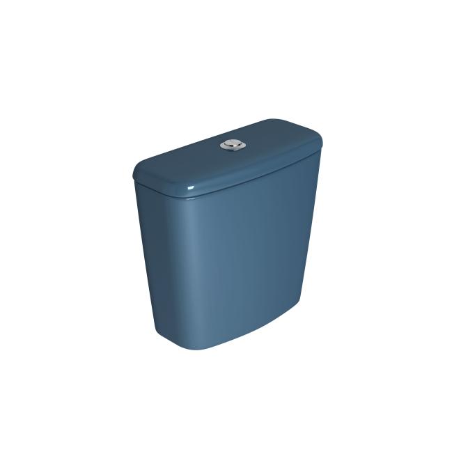Caixa Acoplada Dual Fast/Spot/Rav/Aspen/Izy Azul Deca
