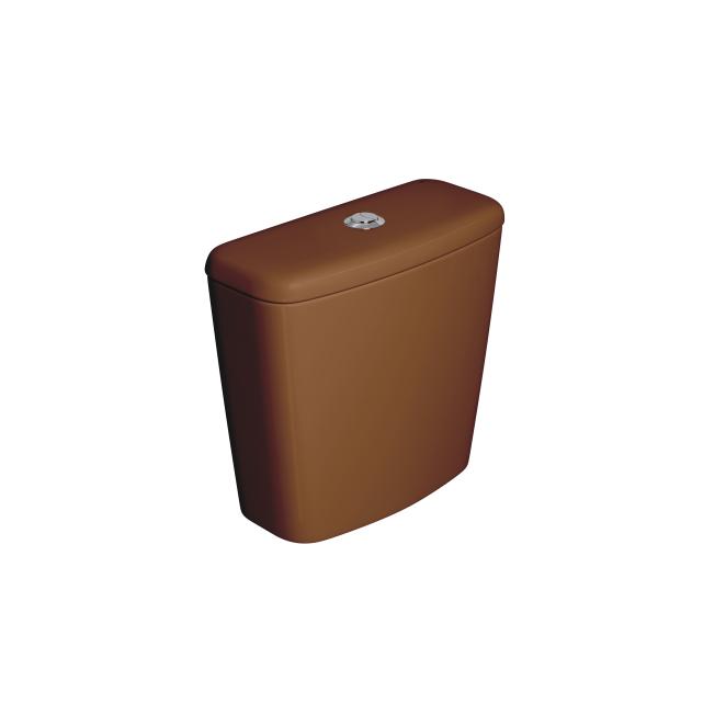 Caixa Acoplada Dual Fast/Spot/Rav/Aspen/Izy Caramelo Deca