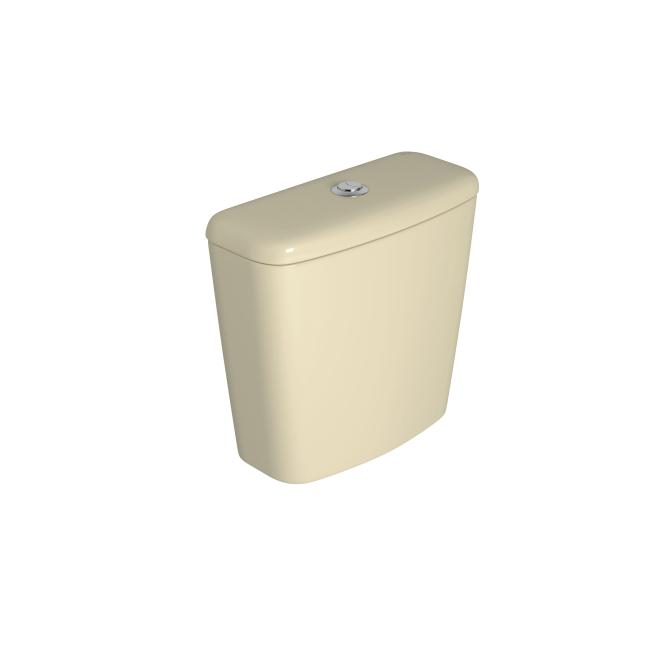 Caixa Acoplada Dual Fast/Spot/Rav/Aspen/Izy Creme Deca
