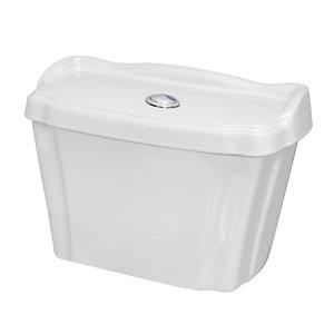 Caixa Acoplada Dualflush Bréscia Branco Eternit