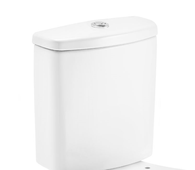Caixa Acoplada Ecoflush Acesso Confort  Branco Celite