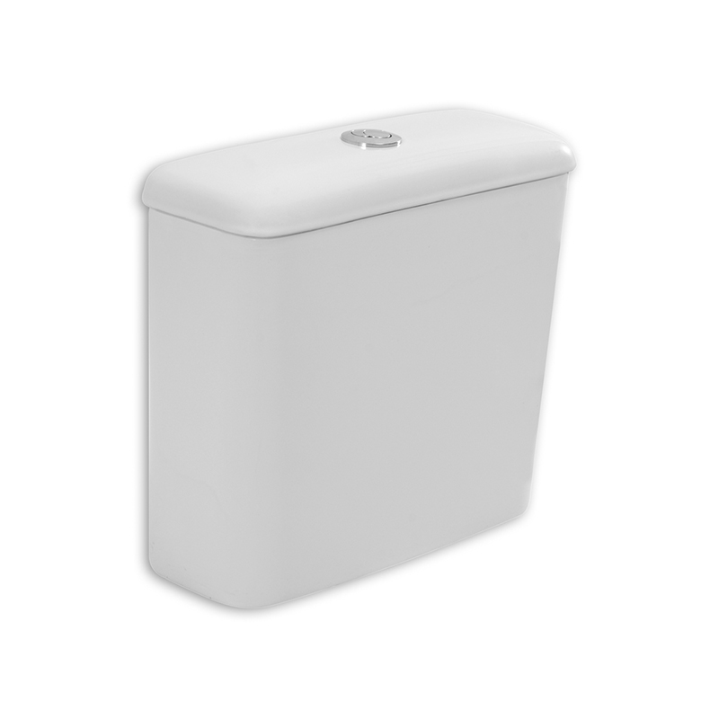 Caixa Acoplada Ecoflush Zip Branco Incepa