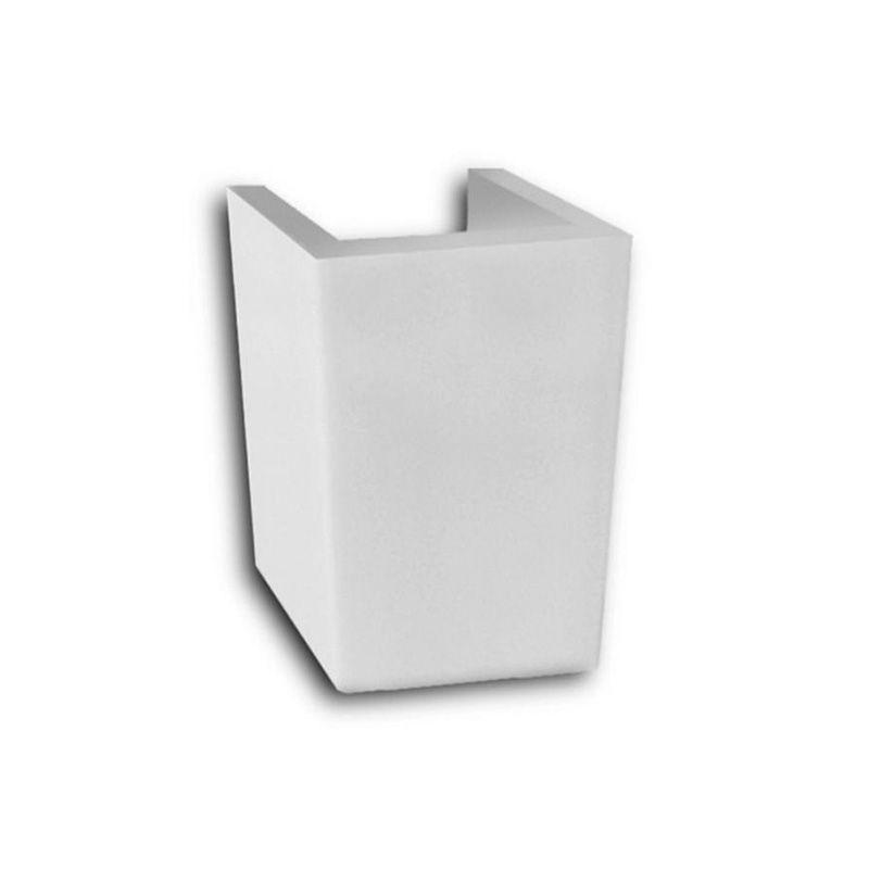 Coluna Suspensa Para Lavatorio Eros Incepa Branco