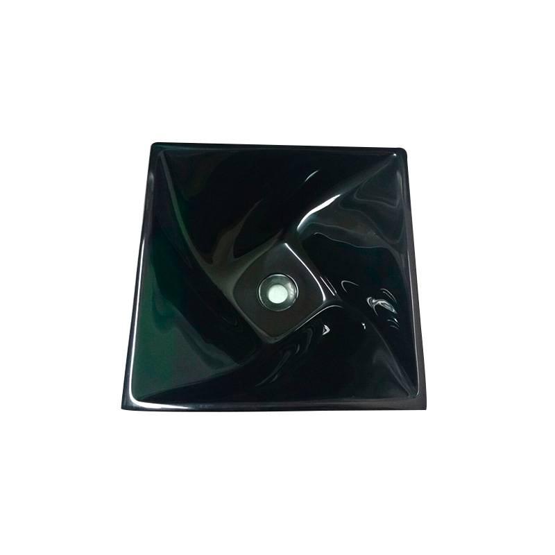 Cuba Poliéster Narciso 34.5X34.5X14cm Verde Esmeralda Sicmol