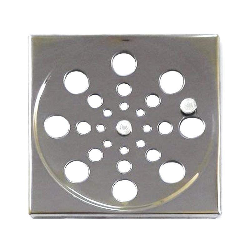 Grelha Quadrada Com Fecho 10 cm Aço Inox Clarinox