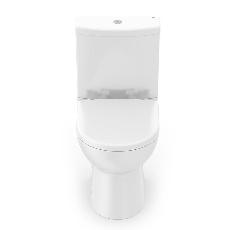 Kit Completo Bacia com Caixa e Assento Termofixo Smart Branco Celite