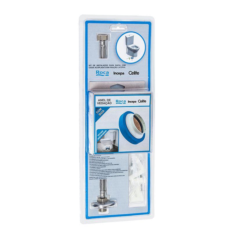 Kit de Instalação P/ Bacia/Caixa Fixação Vertical Ro/In/Ce/Lo