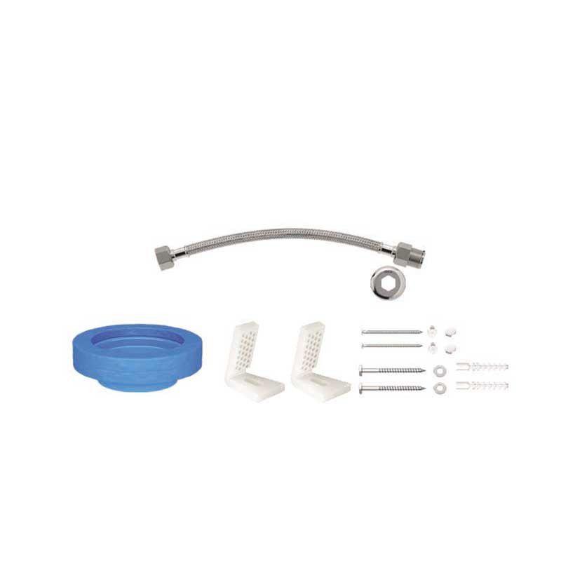 Kit Instalação Bacia Com Caixa Fixação Lateral Cr Deca
