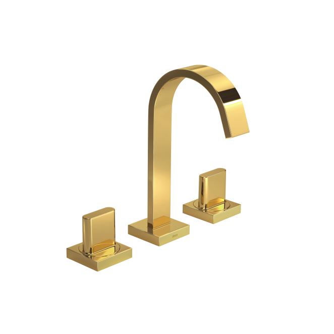 Misturador Lavatório Mesa Bica Alta Polo Gold Deca