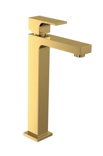 Monocomando Lavatório Mesa Bica Alta Unic Gold Deca