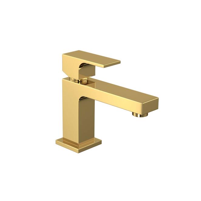 Monocomando Lavatório Mesa Bica Baixa Unic Gold Deca