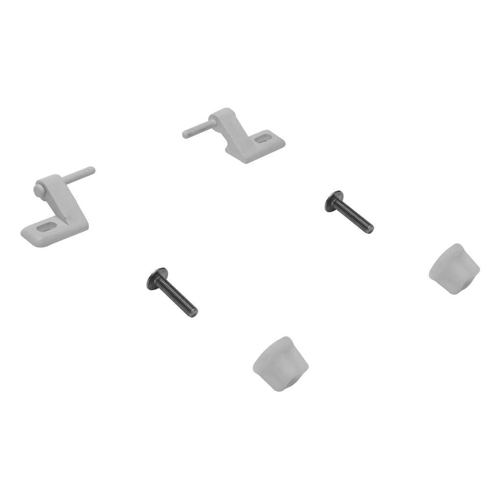Parafusos Fixação Marly para Assento Branco Tupan