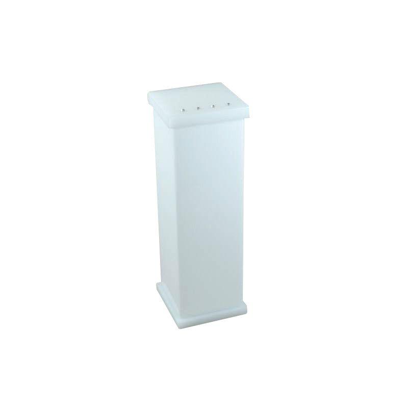 Porta Escova Com Strass Cristal Decor Branco