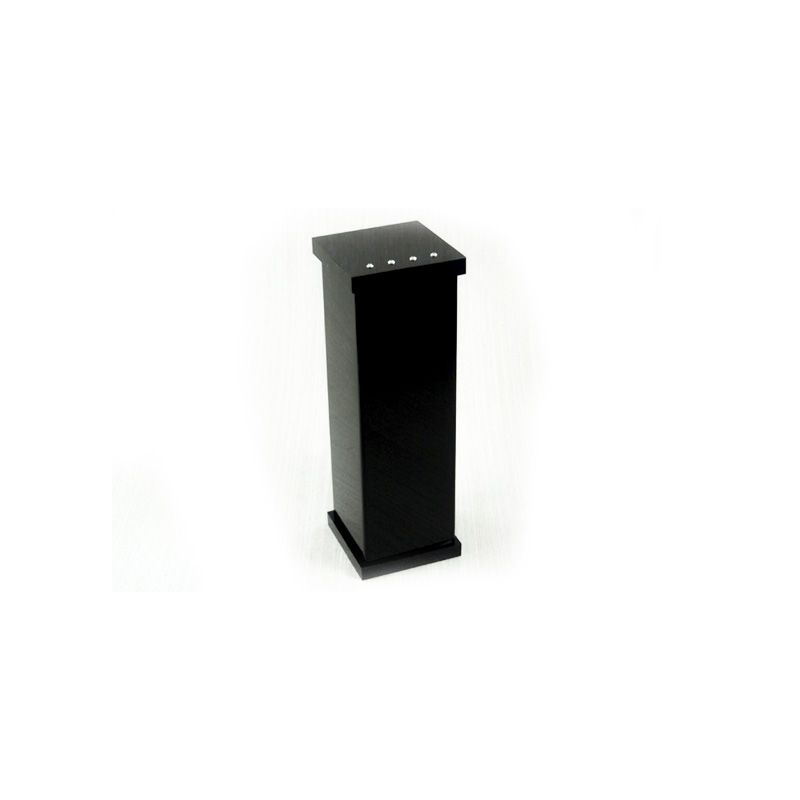 Porta Escova Com Strass Cristal Decor Preto